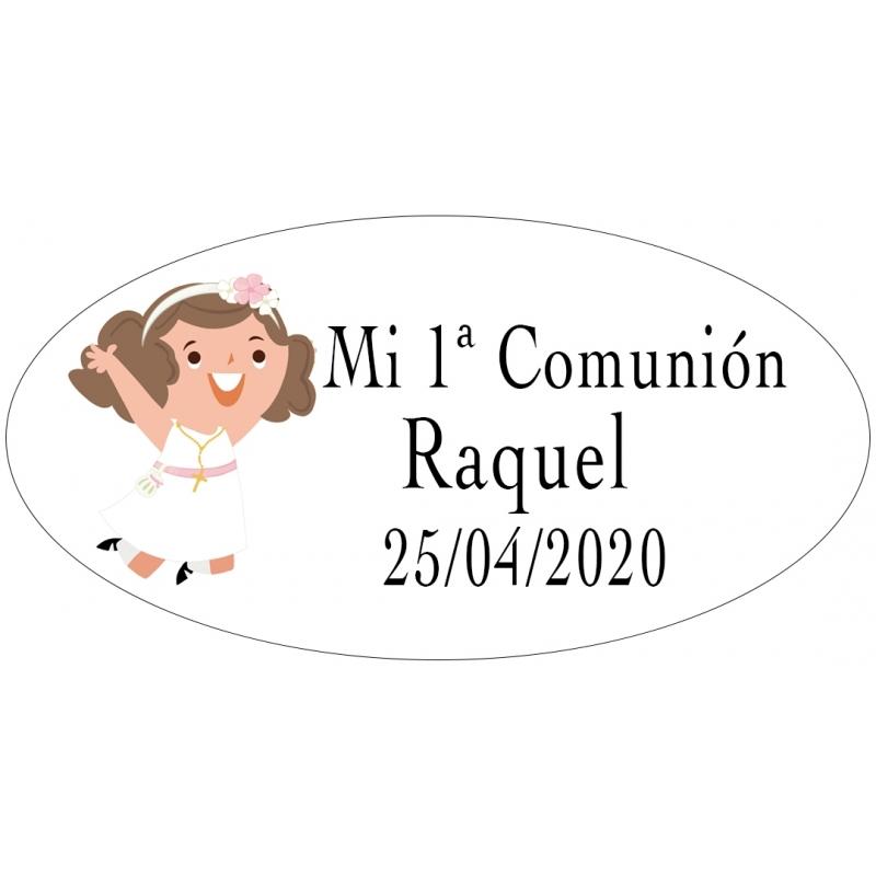 Étiquettes de communion personnalisées