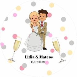 Miroir spécial mariage