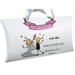 Petite boîte cadeau mariage