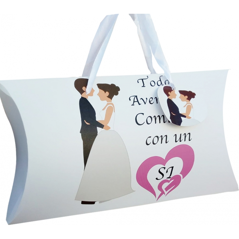 Boîte cadeau spécial mariage