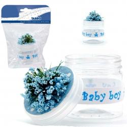 Pots Baptême Bleu