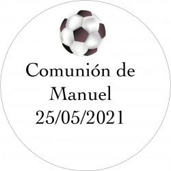 Autocollants Football pour Communion