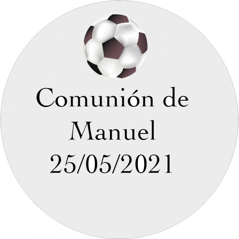 Autocollants pour Communion Football