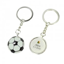 Porte cle personnalise foot
