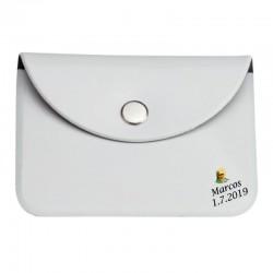 Porte-monnaie Blanc pour Communion