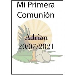 Etiquettes Autocollantes pour Première Communion