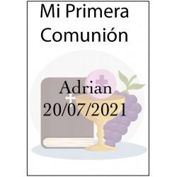 Etiquettes de vin pour Bouteilles de Vin de Communion