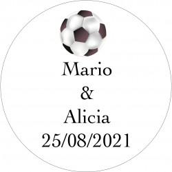 Autocollants Football pour Mariage