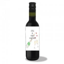 Bouteilles de Vin Mariage