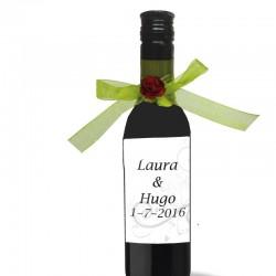 Bouteille Vin Cadeau Invite Mariage