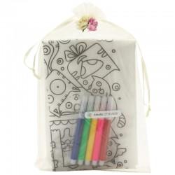 Tablier à Peindre Cadeau pour Petite Fille