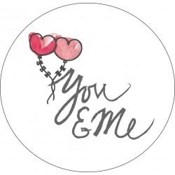 Sticker Romantique