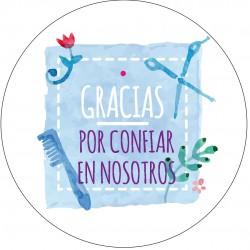 Adhésif remerciement en Espagnol