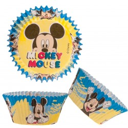 Pack 50 Capsules cupcakes mickey mouse