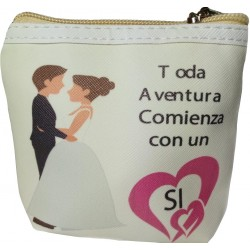Monederos para boda