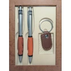 Coffret cadeau homme original stylo porte cle