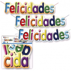Cartel de felicidades