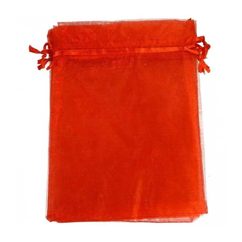 Petit sac organza orange petit prix