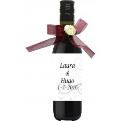 Bouteille de Vin Personnalisee Mariage