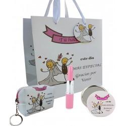 Ensemble de mariage spécial, stylo, miroir et sac à main...