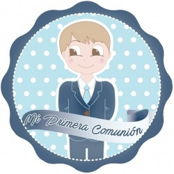Sticker décoratif garçon de communion