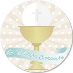 Autocollant calice de communion