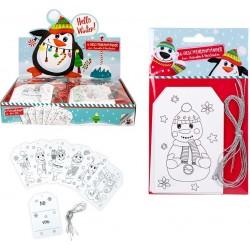 Pack de cartes de Noël personnalisables pour enfants