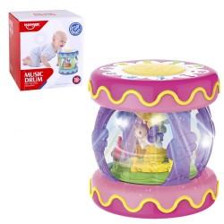Carrousel musical pour bébé avec lumière