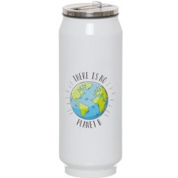 Thermos Blanc there is no planet B