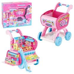 Panier de jouet avec poupée