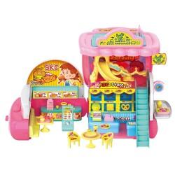Caisse enregistreuse de restaurant jouet convertible