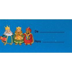 Autocollants pour mettre des noms rois mages
