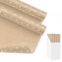 Papier cadeau Kraft de Noël