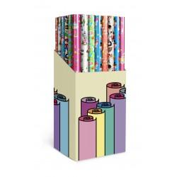 Papier cadeau pour enfants assorti en 6 modèles