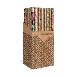 Rouleaux de papier d'emballage kraft avec fond