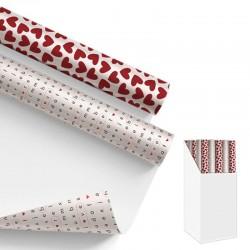 Emballage cadeau Amor.2 modèles assortis