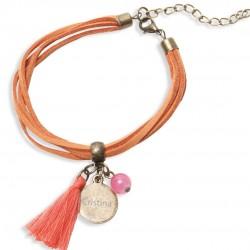 Bracelets de nom personnalisés bon marché
