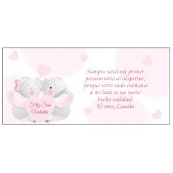 Carte de Saint-Valentin romantique