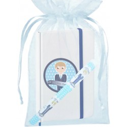 Stylo de communion pour enfants, avec sac et cahier avec...