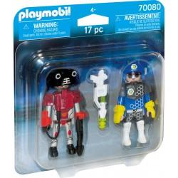 Playmobil Space Police et Pack Voleur