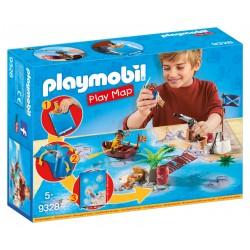 Playmobil Play Map Pirates avec accessoires