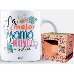 Tasse pour maman avec jolie phrase