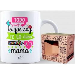 Mug cadeau pour maman avec une belle phrase