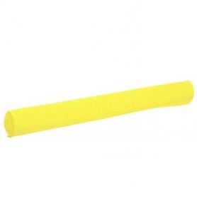 Papier crepon jaune decoration