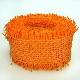 Ruban resille orange decoration