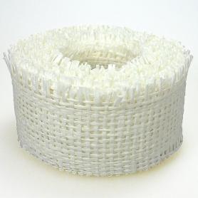 Ruban resille blanc pour cadeau