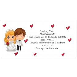 Invitation de mariage drôle Grooms Funny
