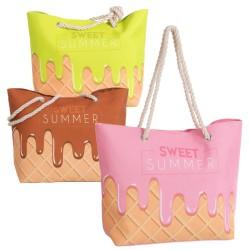 Doux sac de plage d'été 3 / c 51 x 16 x 36 cm