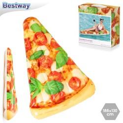 Matelas à pizza gonflable 188 x 130 cm
