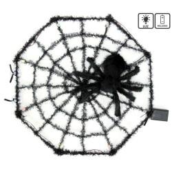 Toile d'araignée tarentule avec lumière 58 x 6 x 58 cm